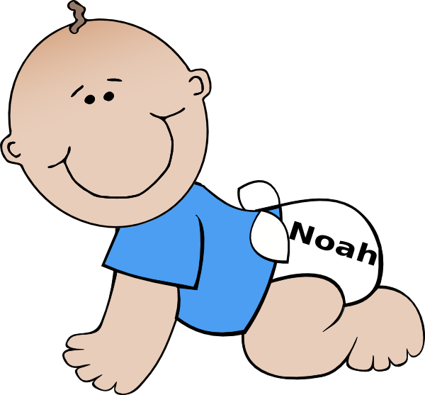Baby Noah Clip Art at Clker.com - vector clip art online ...