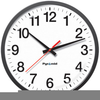 Punch Clock Clipart Image