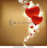 Stock Vector Hearts And Valentin S Day Card With Vector Illustration Image