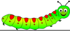 Free Animated Caterpillar Clipart Image