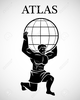 Clipart Of Greek God Atlas Image
