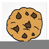 Free Clipart Chocolate Chip Cookie Image