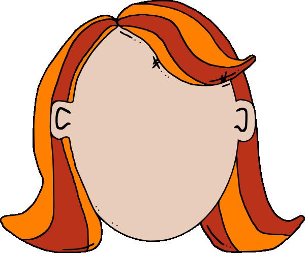 Blank Face Teen Girl Cartoon Clip Art at Clker.com ...