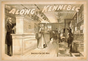 Reno & Curtis Successful Comedy, Along The Kennebec A New England Story, Laughingly Told. Image