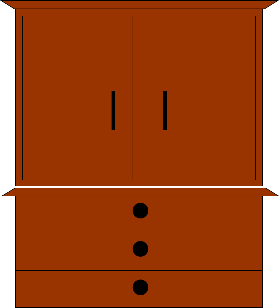 Dresser Free Images At Clker Com Vector Clip Art