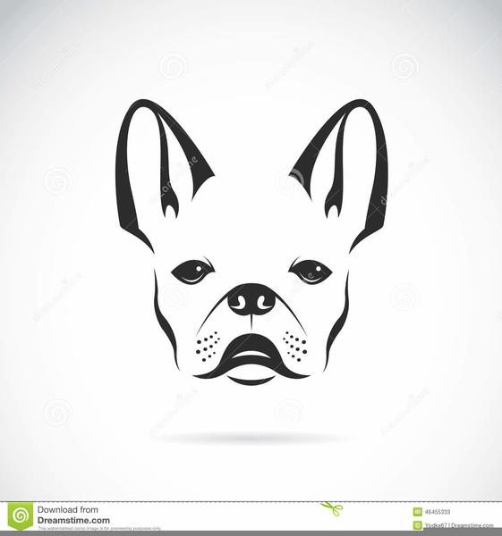Bulldog Head Clipart Free Free Images At Clker Com Vector Clip
