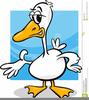 Silly Goose Clipart Image