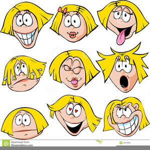Free Clipart Of Faces Of Emotions Image