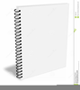 Spiral Notebook Page Clipart Image