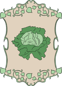 Garden Sign Lettuce Clip Art