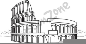 Tower Of Pisa Clipart Image