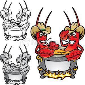 crawfish flyer free images at clker com vector clip crawfish boil clip art crawfish boil pot clipart