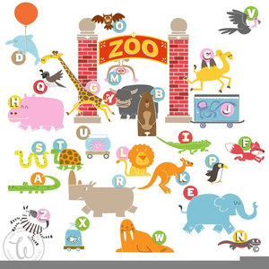 Animal Alphabet Zoo Image