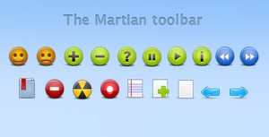 The Martian Toolbar By Michihan Image
