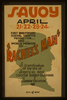 First Anniversary Federal Theatre Production And World Premiere Of  Rachel S Man  A Dramatization Of The Life Of America S Most Colorful Soldier-statesman Andrew Jackson. Image