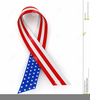 Free Red White And Blue Banner Clipart Image