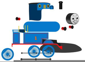 Thomas The Tank Engine Clipart Image