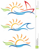 Free Fun In The Sun Clipart Image