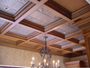 Wooden Coffered Ceiling Image