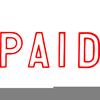 Clipart Paid In Full Stamp Image