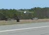 The Aerolight Unmanned Aerial Vehicle (uav) Returns From A Successful, Groundbreaking Flight Clip Art