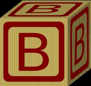 Alphabet Block B Clip Art at Clker vector clip art online
