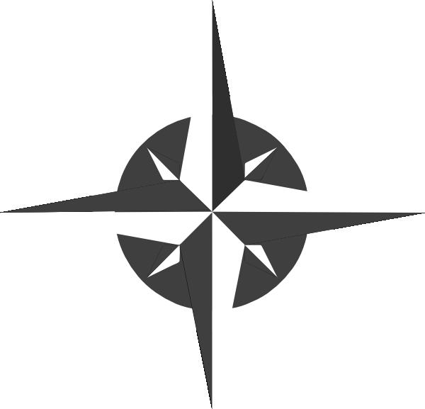 White Compass Rose Clip Art at Clker.com - vector clip art online, royalty free & public domain