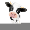 Kissing Cow Clipart Image