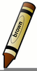 Crayon House Clipart Image