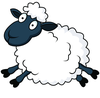 Clipart Sheep Herd Image