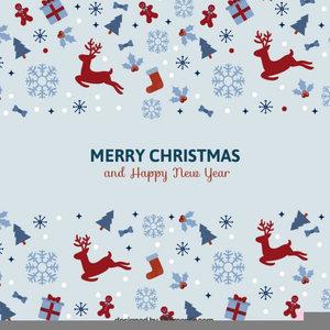 Free Christmas Clipart Cards Image
