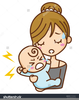 Cry Baby Animated Clipart Image