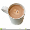 Cup Of Hot Chocolate Clipart Image
