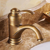 Antique Brass Finish Inspired Bathroom Sink Faucet Image