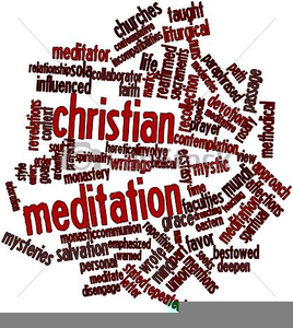 Free Meditation Clipart Image