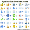 Application Toolbar Icons Image