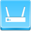 Free Blue Button Icons Wi Fi Router Image