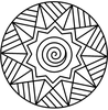 Free Celtic Spiral Clipart Image