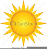 Free Clipart Hot Sun Image