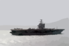 Uss Enterprise (cvn 65) Underway During A Scheduled Deployment. Clip Art