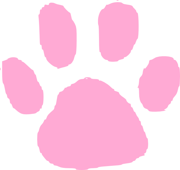 pink paw print clip art at clker com vector clip art paw print clip art lines paw print clip art free images