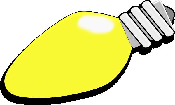 Christmas Lightbulb Clip Art at Clker.com - vector clip ...