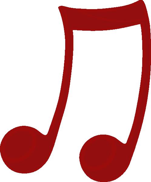 nota musical vermelha clip art at clker com vector clip art online  royalty free   public domain music staff clip art transparent background music staff clip art curvy