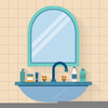 Bathroom Sink Clipart Image