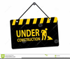 Page Under Construction Clipart Image