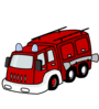 Red Fire Truck Clip Art