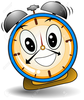 Blank Clock Clipart Free Image