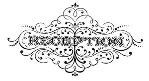 Free Wedding Reception Clipart Image