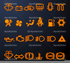 Clipart And Blinking Dashboard Image
