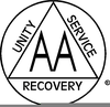 Free Alcoholics Anonymous Clipart Image